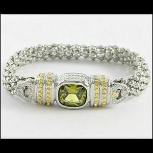 Peridot Magnetic Bracelet